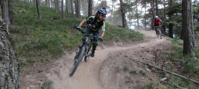 MTB Jugendgruppe des DAV Frankenthal ist wieder in den Alpen